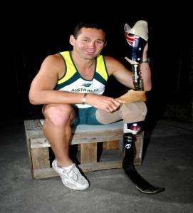Photo of Paralympian Don Elgin, to appear at Celebrate Mooroolbark 2018.