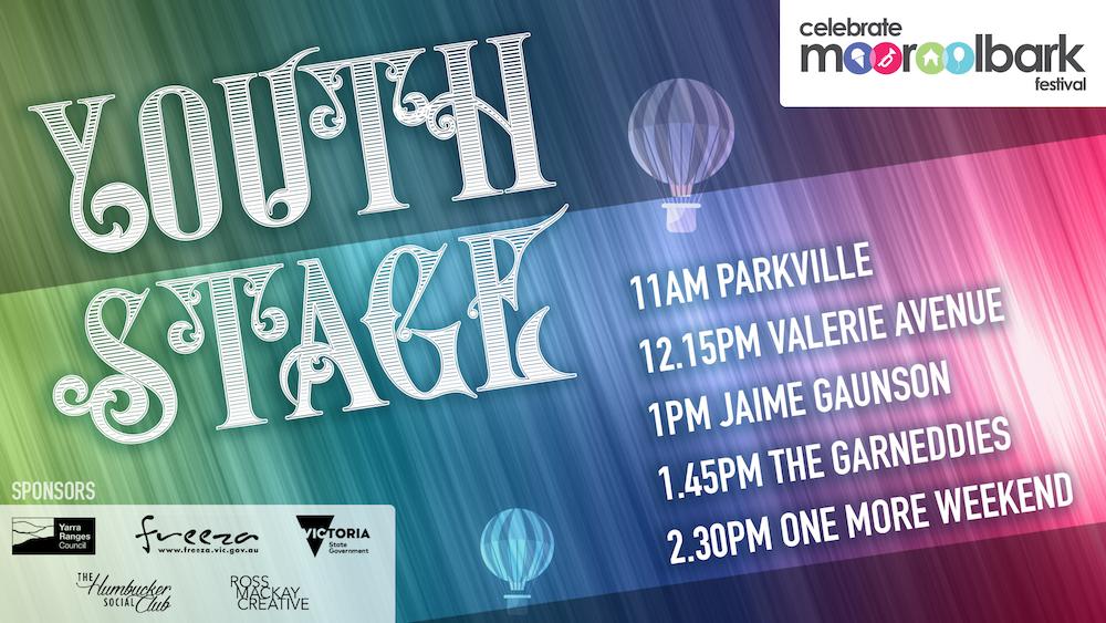 Celebrate Mooroolbark Youth Stage program 2018