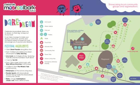 Celebrate Mooroolbark 2019 Site Map