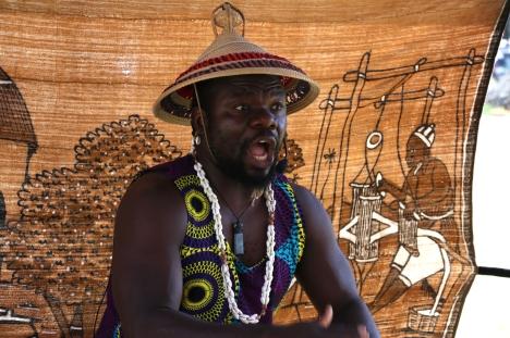 African Drummer, Celebrate Mooroolbark 2019